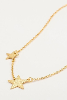 Gorjana Super Star Gold Necklace