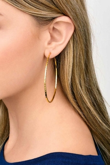Gorjana Taner Gold XL Hoops