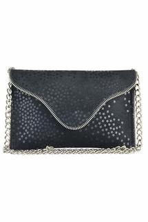 JJ Winters Brooke Black Stars Crossbody