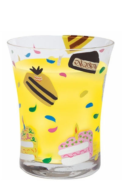 Lolita Birthday Cake Filled Candle