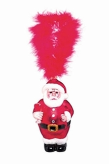 Lolita Santa's Party Mercury Glass Ornament
