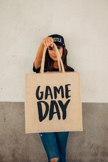 Mother Trucker Game Day Tote Bag