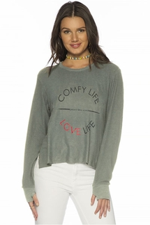 Peace Love World Comfy Life Love Life Kris Comfy Top