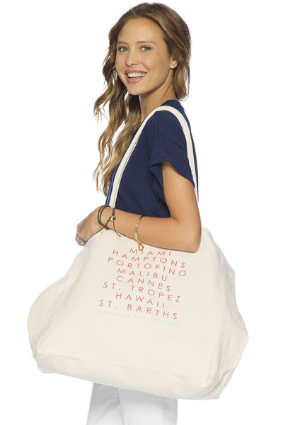 Peace Love World Destinations Luly Bag
