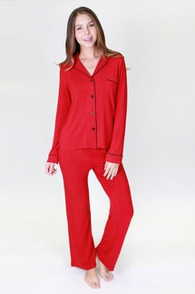 PJ Salvage Be Love Ruby Pajama Set & Love Eye Mask