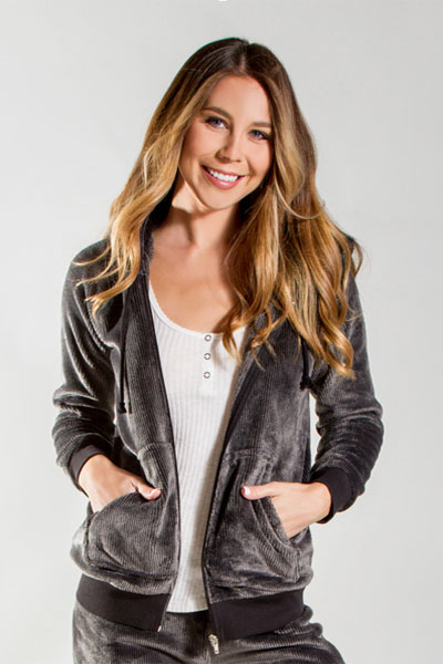 PJ Salvage Black Cozy Jacket