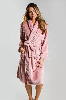 PJ Salvage Blush Silky Robe