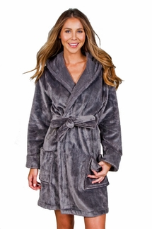 PJ Salvage Charcoal Haute Spot Robe