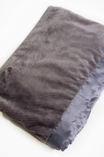 PJ Salvage Charcoal Silky Blanket
