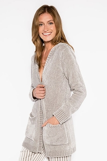 PJ Salvage Chenille Cozy Jacket/Robe