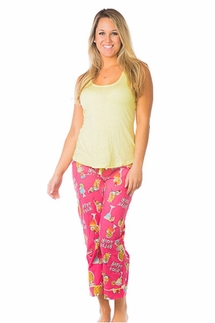 PJ Salvage Citron Tank and Cocktail Crop Pant