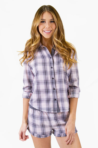 PJ Salvage City Of Love Pajama Set