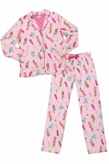 PJ Salvage Drinks Pajama Set
