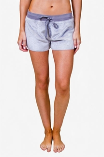 PJ Salvage Heather Grey Cozy Short