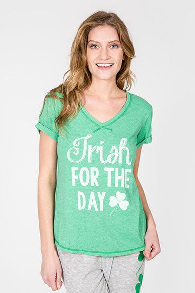 PJ Salvage Irish For The Day Shirt