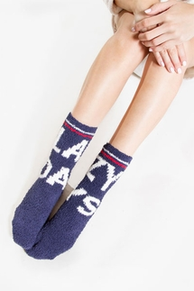 PJ Salvage Lazy Days Socks
