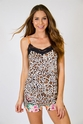 PJ Salvage Leopard Cami & Short Pajama Set