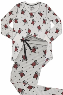 PJ Salvage Love Tattoo Pajama Set