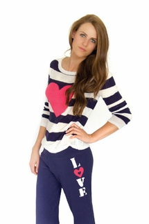 "PJ Salvage Queen of Hearts ""Heart"" Sweater"