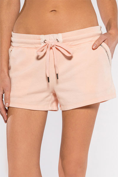 PJ Salvage Revival Dusty Rose Longe/Pajama Short