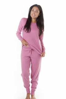 PJ Salvage Rose Ski Jammies