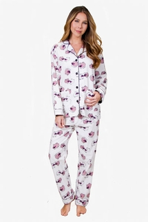 PJ Salvage Sheep Sleepy Time Flannel Pajama Set