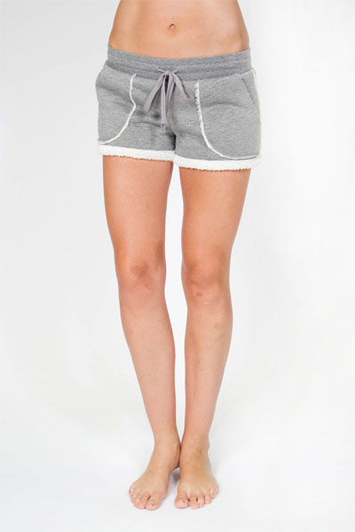 PJ Salvage Sherpa Grey Short