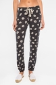 PJ Salvage Spread Love Lips Banded Pant