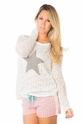 PJ Salvage Star Sweater