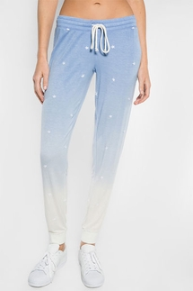 Pj SalvageFeelin' Blue Banded Pant
