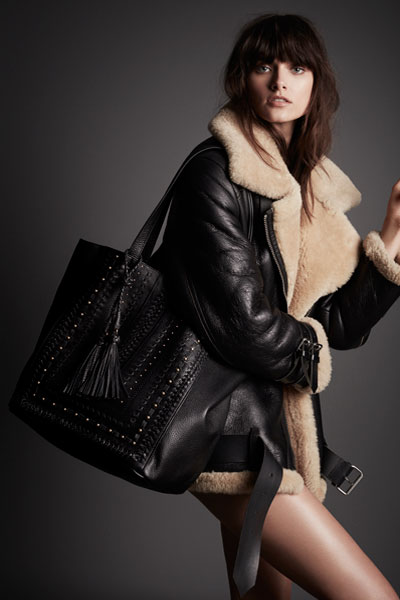 Steven by Steve Madden Indie Black Bag
