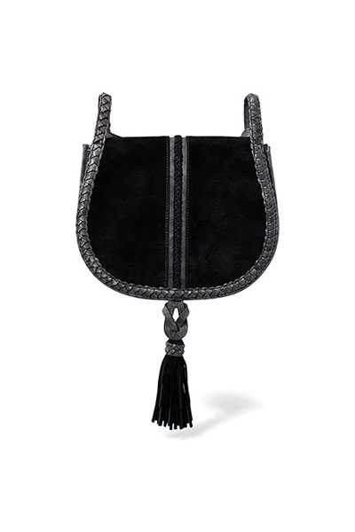 Steven by Steve Madden Treviso Black Crossbody Bag