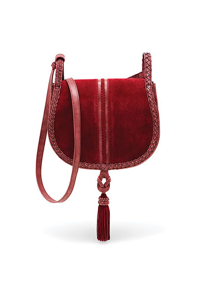 Steven By Steve Madden Treviso Wine Crossbody Bag