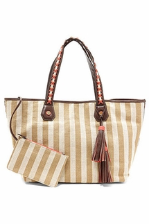 Steven by Steve Madden Wesley Tan Tote Bag