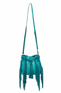 Steven Julien Turquoise Crossbody Bag
