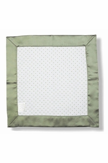 Swaddle Designs Baby Lovie, Sage Polka Dot