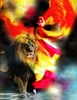 "Dance with the Lion of Judah. 8.5"" x 11"" Art Print"