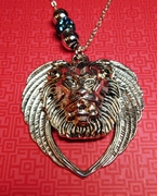 Lion And the Lamb. Prophetic necklace