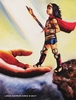 "Original Canvas Painting 14"" x 18"" Wonder Girl"