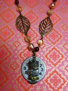 Its time. Be wise. prophetic necklace