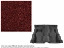 1962-1967 NOVA CARPET SET 2 DOOR MAROON