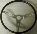 1963-66 Corvette Steering Wheel Simulated Walnut