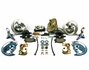 1964-1972 Chevelle Front Disc Brake Conversion Kit 11 Inch Booster Square Master Cylinder