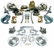 1964-1972 EL CAMINO 4 WHEEL DISC BRAKE CONVERSION KIT 11 INCH BOOSTER SQUARE MASTER CYLINDER