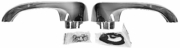 1964-67 Chevelle Exterior Door Handle Kit w/o Buttons