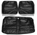 1965 EL CAMINO FRONT BENCH SEAT COVERS WHITE