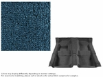 1967-1968 Camaro Carpet Set 80/20 Looped Bright Blue