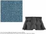 1967-1968 Camaro Carpet Set 80/20 Looped Medium Blue