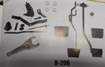 1968 1972 CHEVELLE MASTER CLUTCH LINKAGE KITS