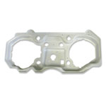 1970-72 Chevelle SS Dash Gauge Housing Backing Plate